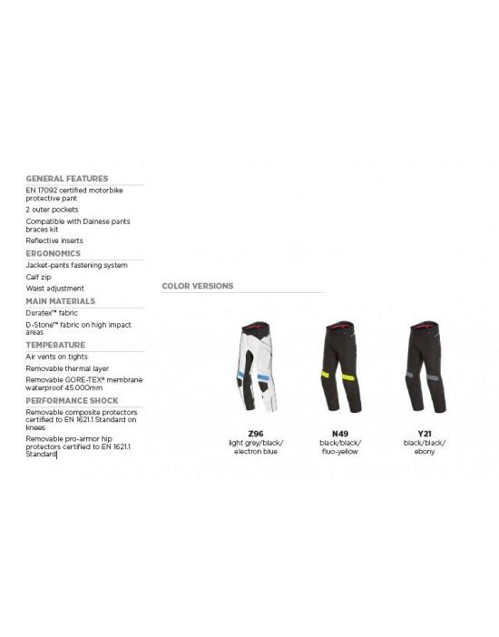DOLOMITI GORE-TEX PANTS - BLACK/BLACK/EBONY