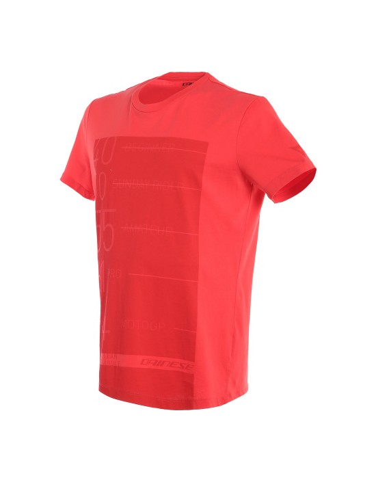 LEAN-ANGLE T-SHIRT - RED
