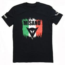 MISANO D1 T-SHIRT - BLACK