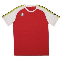 AGO-1 T-SHIRT - WHITE/RED