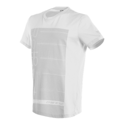 LEAN-ANGLE T-SHIRT - WHITE