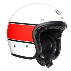 X70 AGV E2205 MULTI - MINO 73 WHITE/RED