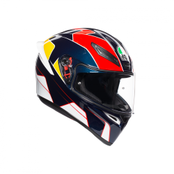 K1 AGV E2205 MULTI - PITLANE BLUE/RED/YELLOW