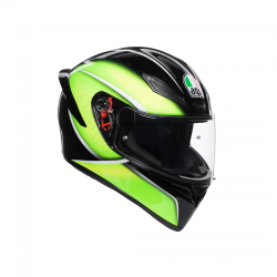 K1 AGV E2205 MULTI - QUALIFY BLACK/LIME