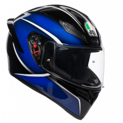 K1 AGV E2205 MULTI - QUALIFY BLACK/BLUE