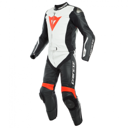 AVRO D-AIR 2PCS SUIT - BLACK/WHITE/FLUO-RED