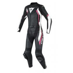 AVRO D2 2 PCS LADY SUIT - BLACK/WHITE/FUXIA
