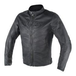 ARCHIVIO D1 LEATHER JACKET - NEUTRO