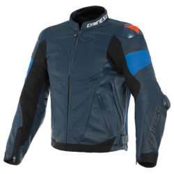 SUPER RACE LEATHER JACKET -...