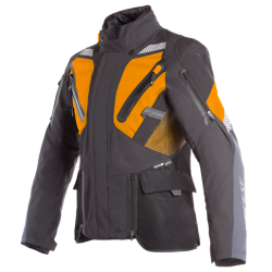 GRAN TURISMO GORE-TEX JACKET - BLACK/ORANGE/EBONY