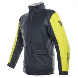 STORM JACKET - ANTRAX/FLUO-YELLOW