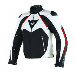 HAWKER D-DRY JACKET - BLACK/WHITE/RED