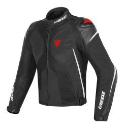 SUPER RIDER D-DRY JACKET - BLACK/WHITE/RED