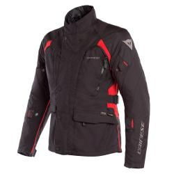 X-TOURER D-DRY JACKET - BLACK/BLACK/TOUR-RED