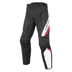 DRAKE AIR D-DRY PANTS - BLACK/WHITE/RED