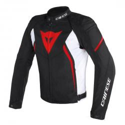 AVRO D2 TEX JACKET - BLACK/WHITE/RED