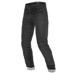 TRENTO SLIM JEANS - BLACK-RINSED