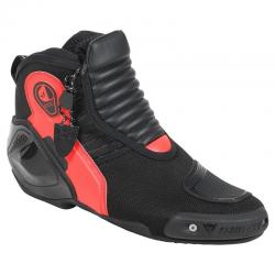 DYNO D1 SHOES - BLACK/FLUO-RED