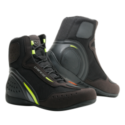MOTORSHOE D1 DWP - BLACK/FLUO-YELLOW/ANTHRACITE