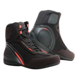 MOTORSHOE D1 DWP - BLACK/FLUO-RED/ANTHRACITE