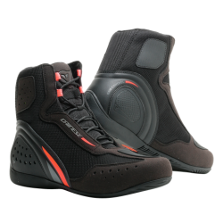 MOTORSHOE D1 AIR - BLACK/FLUO-RED/ANTHRACITE