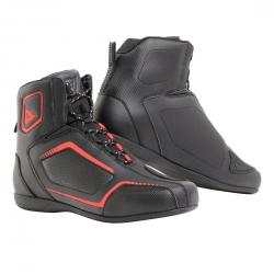 RAPTORS AIR SHOES - BLACK/BLACK/FLUO-RED
