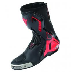 TORQUE D1 OUT BOOTS - BLACK/FLUO-RED