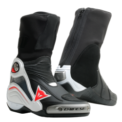 AXIAL D1 BOOTS - BLACK/WHITE/RED-LAVA