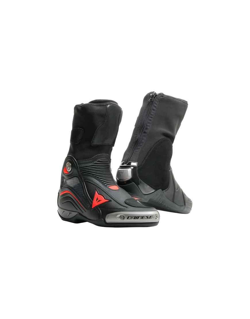 AXIAL D1 AIR BOOTS - BLACK/FLUO-RED