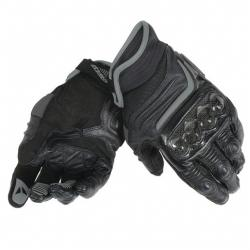 CARBON D1 SHORT GLOVES - BLACK/BLACK/BLACK