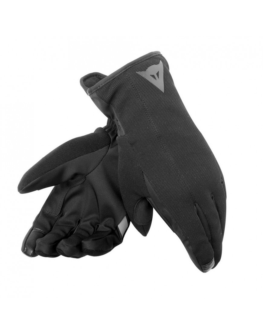 Rękawice Motocyklowe Dainese URBAN UNISEX D-DRY GLOVES - BLACK/BLACK