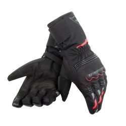 TEMPEST UNISEX D-DRY LONG GLOVES - BLACK/RED