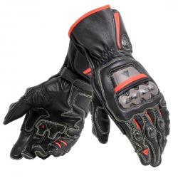 FULL METAL 6 GLOVES - BLACK/BLACK/FLUO-RED