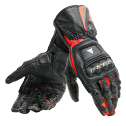 STEEL-PRO GLOVES - BLACK/FLUO-RED