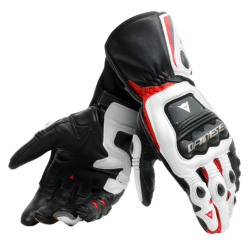 STEEL-PRO GLOVES - BLACK/WHITE/RED