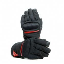 AVILA UNISEX D-DRY GLOVES - BLACK/RED