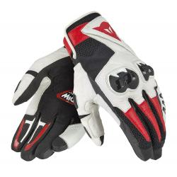 MIG C2 UNISEX GLOVES - BLACK/WHITE/LAVA-RED