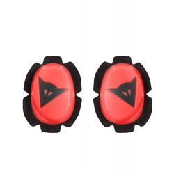 PISTA KNEE SLIDER - FLUO-RED/BLACK