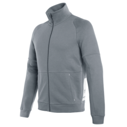 DAINESE FULL-ZIP SWEATSHIRT - IRON-GATE