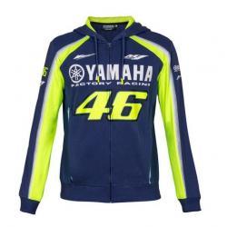 YAMAHA VR46 HOODIE - BLUE-ROYAL-YAMAHA