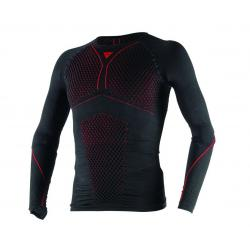 D-CORE THERMO TEE LS - BLACK/RED