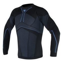 D-CORE AERO TEE LS - BLACK/COBALT-BLUE
