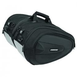 D-SADDLE MOTORCYCLE BAG - STEALTH-BLACK