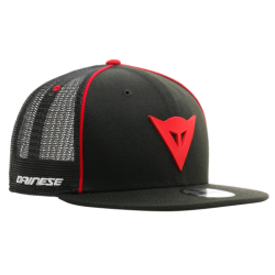 DAINESE 9FIFTY TRUCKER SNAPBACK CAP - BLACK/RED