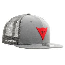 DAINESE 9FIFTY TRUCKER SNAPBACK CAP - GREY/RED