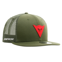 DAINESE 9FIFTY TRUCKER SNAPBACK CAP - GREEN/RED