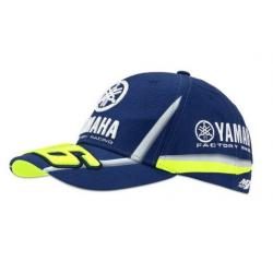 YAMAHA VR46 CAP - BLUE-ROYAL-YAMAHA