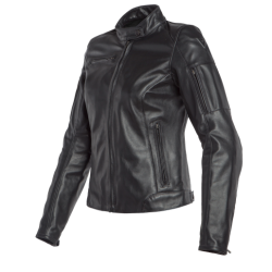 NIKITA 2 LADY LEATHER JACKET - BLACK