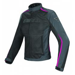 HYDRA FLUX LADY D-DRY JACKET - BLACK/EBONY/FUCHSIA