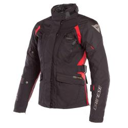 X-TOURER LADY D-DRY JACKET - BLACK/BLACK/TOUR-RED